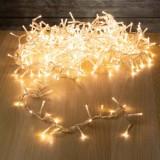 """Гирлянда """"Нить""""(String Light ) - 8м. 100Led тепло белый + мерцание, ПВХ кабель"""
