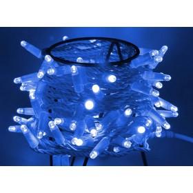 """Гирлянда """"Нить"""" (String Light ) - 10м. 100Led синее мерцание, белый кабель"""