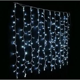 BLACHERE Гирлянда штора JOYLIGHT®led+ with flash-2x7m. резиновый кабель, белый,750led