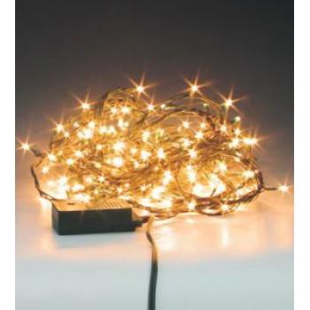 """Гирлянда  """"Нить""""(String Light ) , прозрачный ПВХ кабель, 100le"""