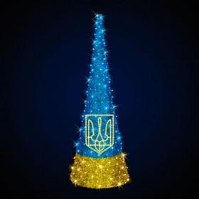 """Елка """"Украинская символика"""""""