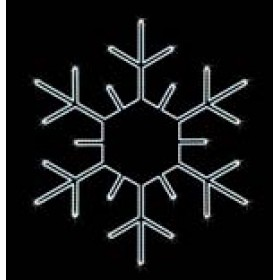 "Снежинка ""001"" 88 см x 88 см"