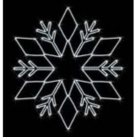 "Снежинка ""009V1"" 1 м 10 см x 1 м"