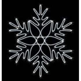 """Снежинка """"010"""" 1 м 30 см x 1 м 10 см"""