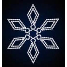 "Снежинка  ""044"" 89 см x 1 м 30 см"