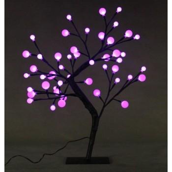 """Светодиодное дерево бонсай """"Снежные шарики"""""""