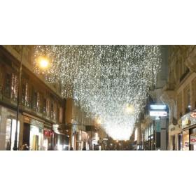 BLACHERE Светодиодная гирлянда штора ECO JOY LIGHT® 2x5м., резиновый кабель, белый, 576led