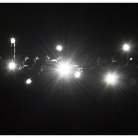 """Гирлянда """"Нить""""(String Light ) -8м. 100Led холодно белый + флеш, черный кабель"""