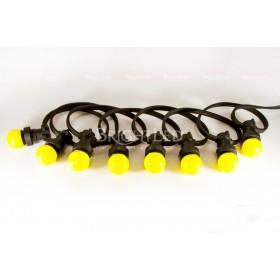 Резиновый шнур 100 м с патронами (2х 1,5 мм2)GARLAND E27 2DM 1,5 K - 100 m