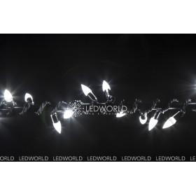 """Гирлянда """"Нить"""" (String Light ) - 10м. 100Led тепло белый, черный кабель"""