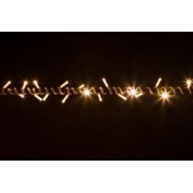"Гирлянда ""Нить"" (String Light ) - 20м. 200Led тепло белый, белый Пвх кабель"