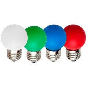 Лампа led bulbs-pure green- /1,2-4,5Ватт SMD матовая зеленого,В22