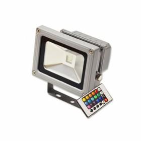 Светодиодный прожектор Feron (TM) 10W 230V IP44 RGB с пультом управления