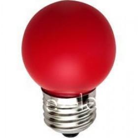 Лампа led bulbs-pure red - /1,2-4,5Ватт SMD матовая красного,В22